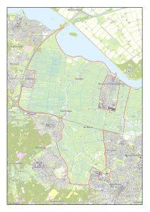Kaart SC Eemland. hoge resolutie
